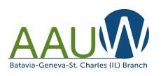 AAUW Creative Writing Writing Contest!