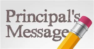 Principal's Message: Welcome Back!