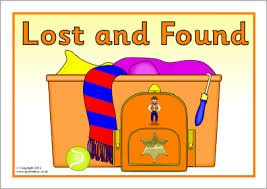 Come dig through our Lost and Found!!