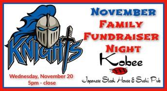 Family Fundraiser Night - November
