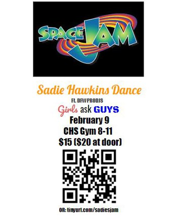 Sadie Hawkins Dance February 9th