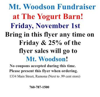 Eat & Earn @ Yogurt Barn