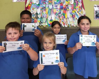 Senior Award Winners