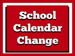 Calendar Change!