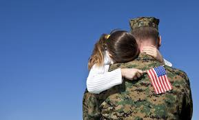 April is the Month of the Military Child.