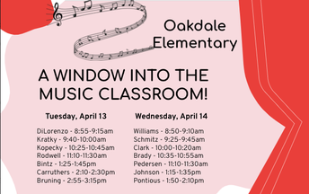 A Window Into The Music Classroom