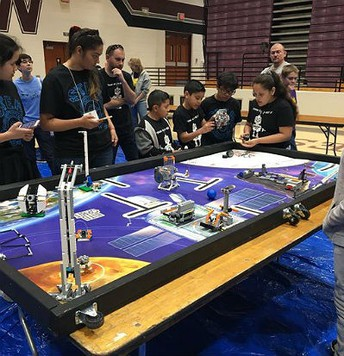 Galveston First Lego League Robotics team