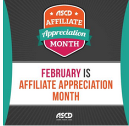 ASCD Proclaims February as Month of International Celebration of Affiliates