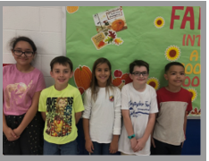 5th Grade Citizens of the Month