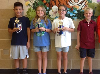 5th Grade Bike Rodeo Winners
