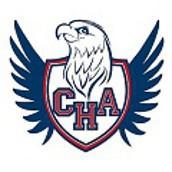 CHA eagle mascot