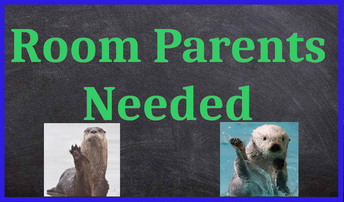 ROOM PARENTS NEEDED