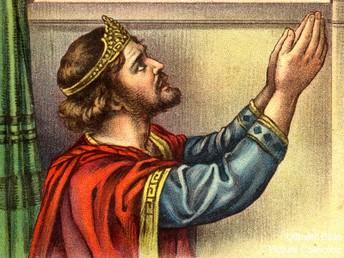 David Worships God