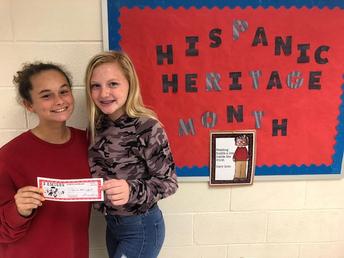 Hispanic Heritage Month Winner!