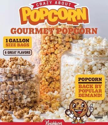 Crazy About Popcorn!