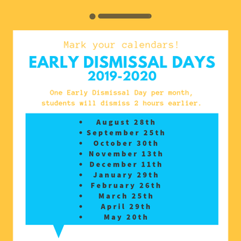 October Early Dismissal Date