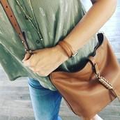 The Covet Sunday Bag - Saddle Leather