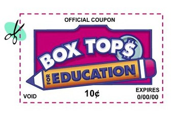 BOX TOPS CONTEST IS UNDERWAY!