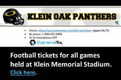 Purchase Football Tickets!