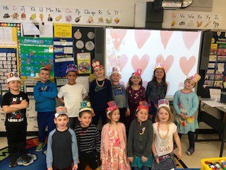 Mrs. Record's First Grade Celebrates 100th Day!