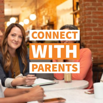 Connect with Parents graphic
