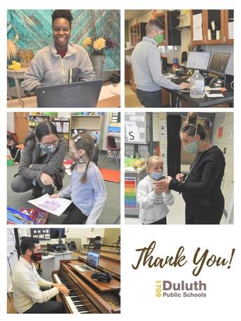 Thank You, Duluth Teachers