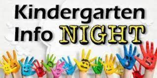 Kindergarten Info Night, small painted hands with faces on the palms