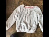 Xhilaration S/P fuzzy sweater