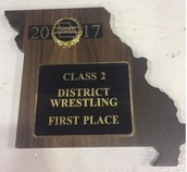 Congratulations to the wrestling team on a Fantastic weekend at Districts!