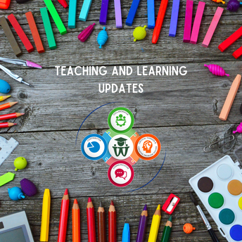 Teaching and Learning Update - From the Desk of Deanna Barash