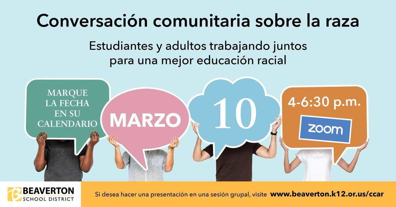 Conversation about race Spanish version