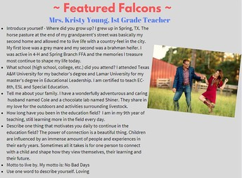 RES Featured Falcons