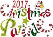 Saturday, 12/9/2017  Christmas Parade!