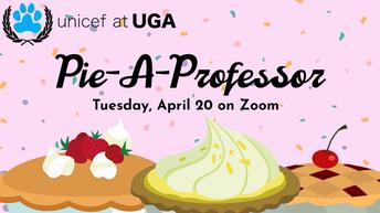 UNICEF Pie-A-Professor
