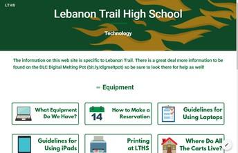 New LTHS Tech Web site