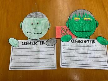 4th Grade ELA Crankenstein Activity