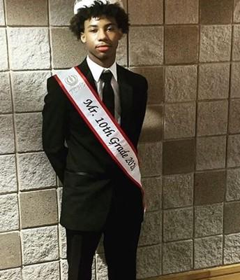 Congratulations Mr. 10th Grade - Ashton Graham