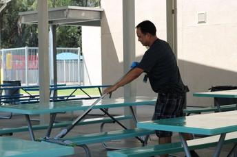 Keeping Campuses Clean