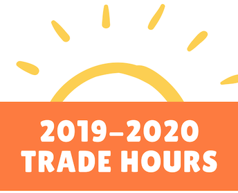 2019-2020 Personal Trade Hours