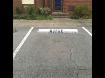 Nurse Parking Spot