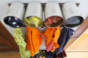 Easy DIY Mudroom Ideas to Organize Winter Gear