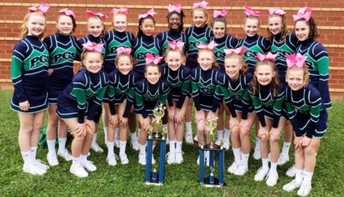 PGMS Competition Cheer