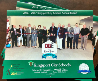 Kingsport City Schools 2016-17 Annual Report