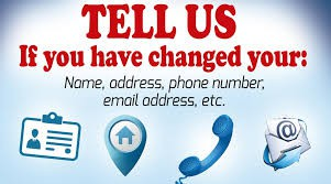 Phone & Address Changes