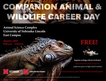 UNL Companion Animal & Wildlife Career Day
