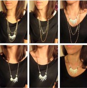 Zuni Necklace - Several necklaces in one!