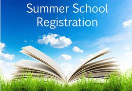 Summer School Registration Is Open