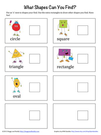 Geometry: Going on a Shape Hunt - Grades K-2
