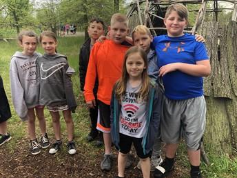 4th grade at Sauder Village