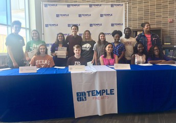 Fine Arts Signing Day @ THS